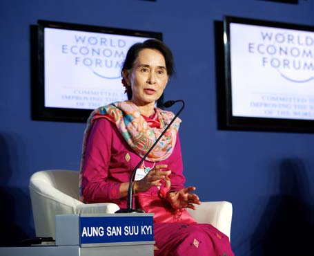 Aung San Suu Kyi, Chairman of the National League for Democracy (NLD); Member of Parliament
