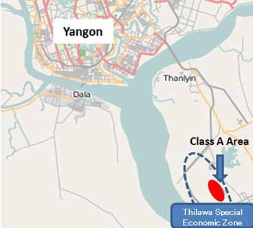 Myanmar will start construction of a thermal power plant soon to supply power to the upcoming Thilawa Special Economic Zone (SEZ). photo: mitsubishicorp.com