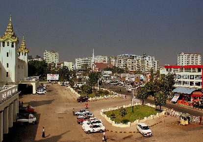 YANGON CITY OF MYANMAR