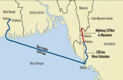 ESSAR PROJECTS LTD EXPECTS TO COMPLETE BY JUNE 2014 THE 'PORT-CUM-INLAND WATERWAY' PART OF AN INDIA-SPONSORED PROJECT IN MYANMAR