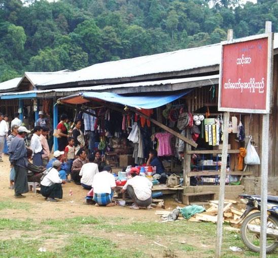 Pangsu Bazaar, Myanmar | Photo: Bibek Borgohain / panoramio