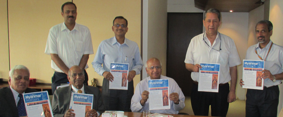 The Launch of Myanmar Matters, Delhi April 25, 2013