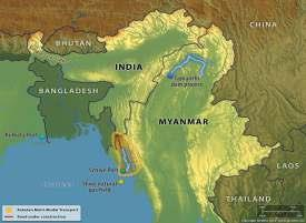 INDIA INVESTS IN MYANMAR