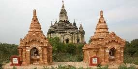 SHWEGUGYI TEMPLE WHERE SITHU, KING OF PAGAN DYNASTY OF MYANMAR, WAS ASSASSINATED