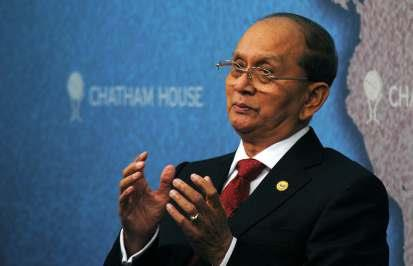 H.E. THEIN SEIN, PRESIDENT OF THE REPUBLIC OF THE UNION OF MYANMAR