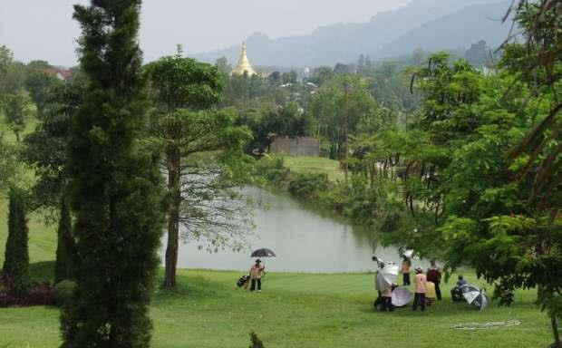 GOLF COURSE IN MYANMAR