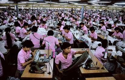 REPRESENTATIONAL IMAGE - MYANMAR'S GARMENT INDUSTRY