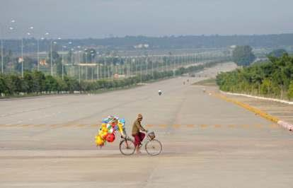 LOOKING TOWARDS THE FUTURE - NAY PYI TAW, A GHOST TOWN