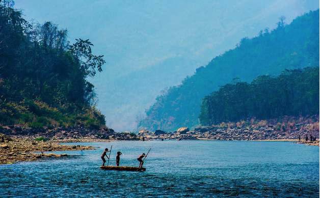 TOIPUI RIVER, MIZORAM INDIA