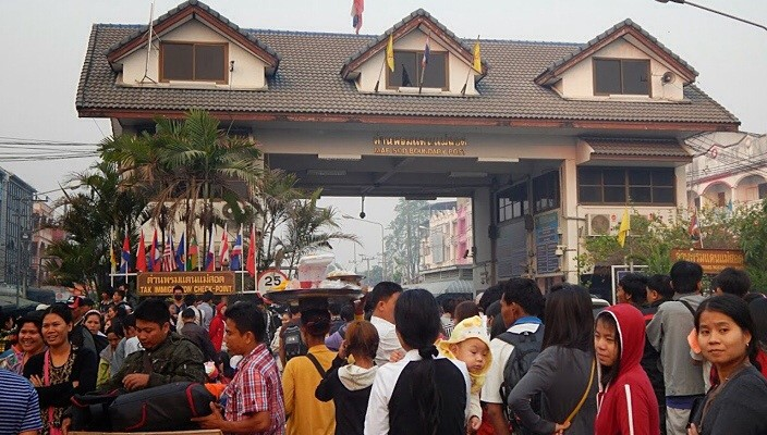 Overland visits to Myanmar on the rise