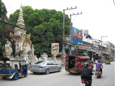 VIEW OF CHIANG MAI CITY