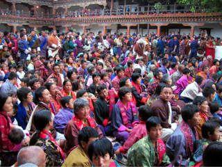 A PEOPLE'S GATHERING IN THIMPU