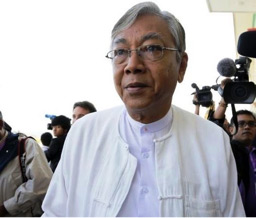 MR. HTIN KYAW BECOMES MYANMAR'S NEW PRESIDENT