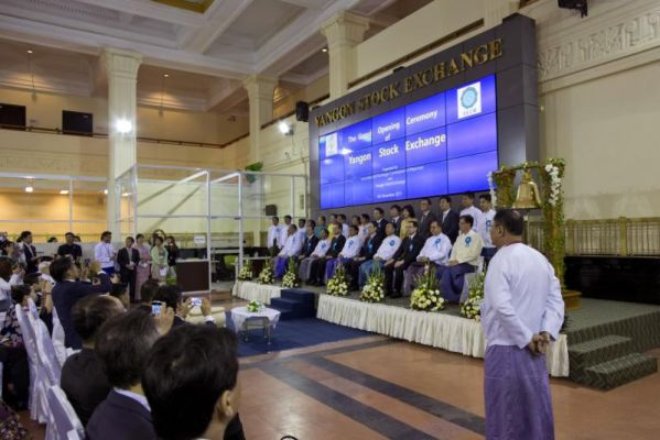 Myanmar inaugurates new stock exchange, trading to begin in March
