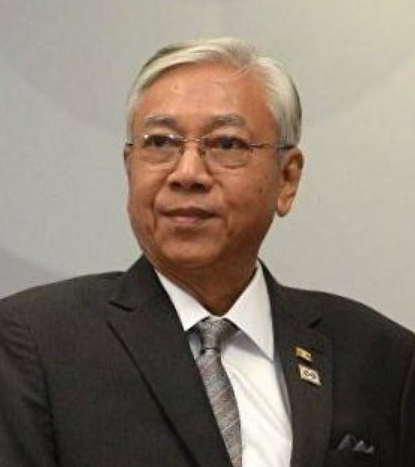 MYANMAR'S PRESIDENT MR. HTIN KYAW