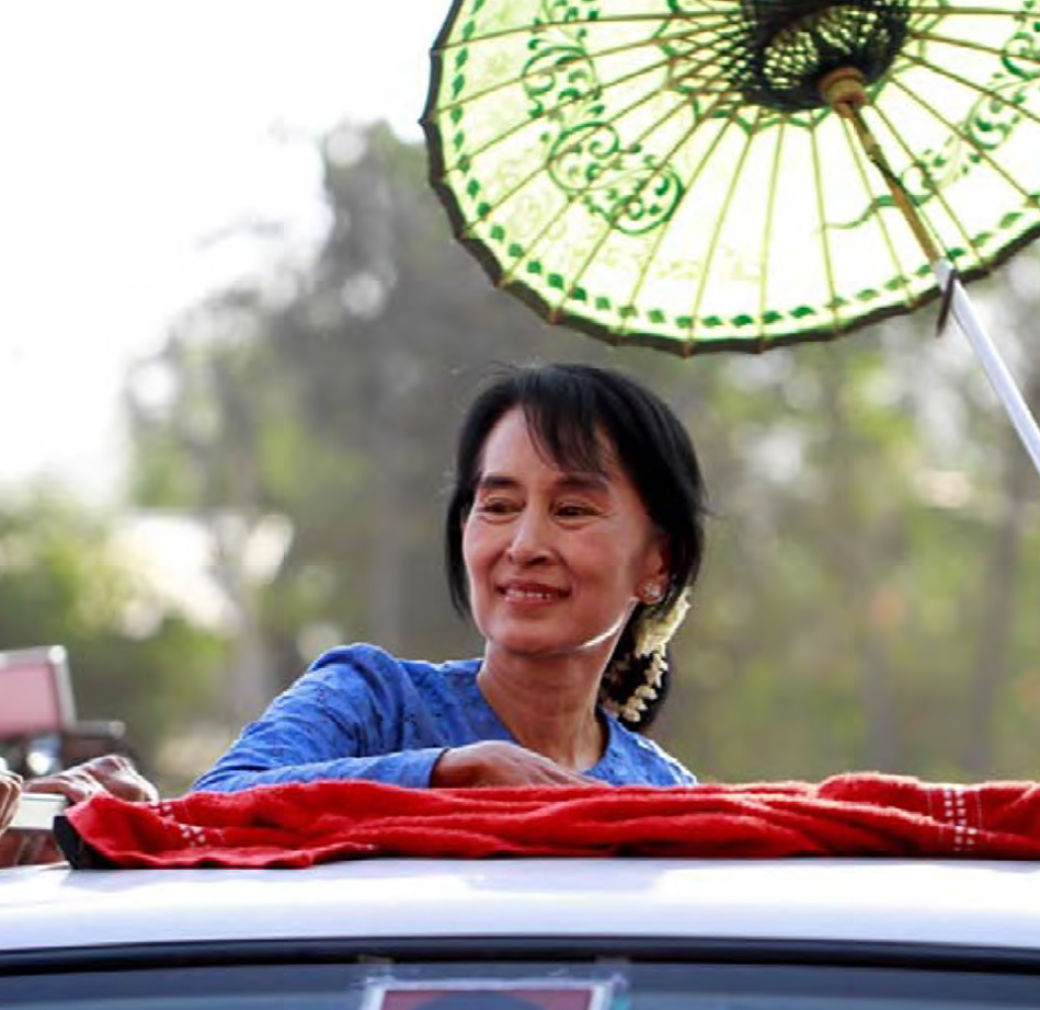 MS. SUU KYI SHOWS HER COMMITMENT TOWARDS PEACE BY INITIATING THE PEACE CONFERENCE