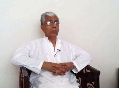 CM Manik Sarkar