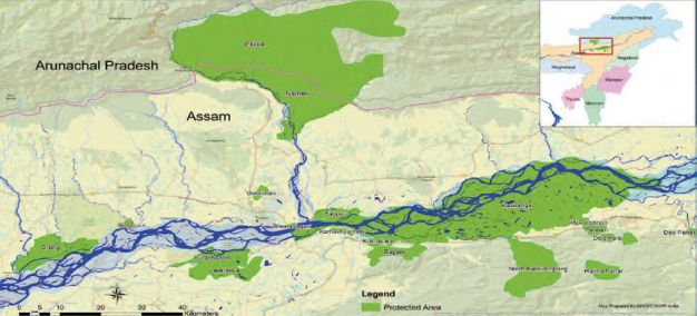 Brahmaputra River Islands