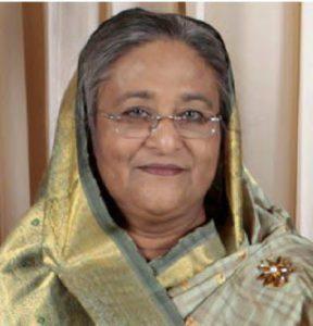 Ms Sheikh Hasina