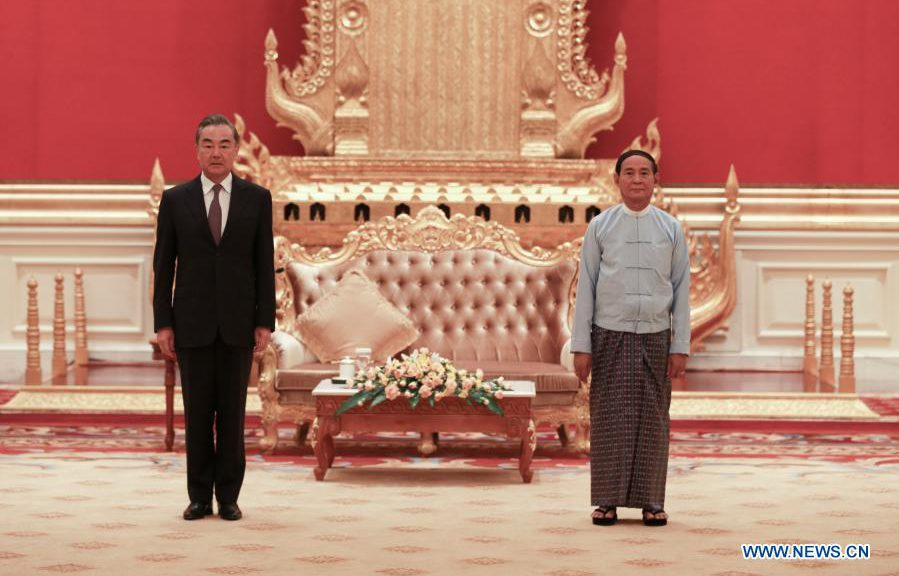 China to work with Myanmar to battle COVID-19, promote economic recovery: Wang Yi