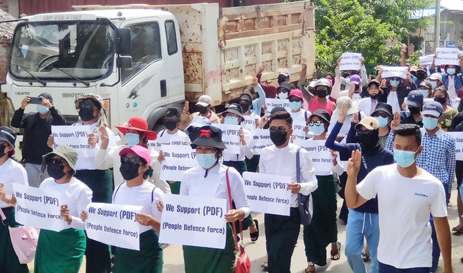 Myanmar shadow government's militia gains popular support to fight military junta